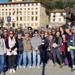Il ritrovo dei cittadini a Fiesole per la Passeggiata metropolitana
