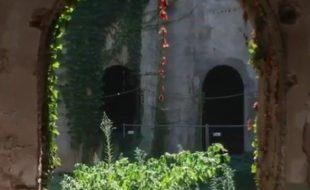 Uno dei cortili di Sant'Orsola visto dai portici al piano terreno