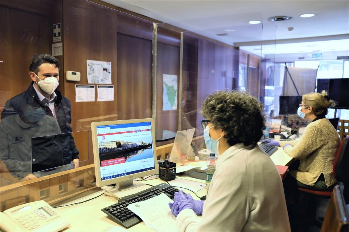 L'Ufficio Informazioni Turistiche della Città Metropolitana di Firenze