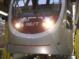 Un vettore della tramvia