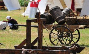 Rievocazione di battaglia medievale