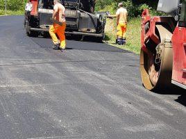 Lavori sulle strade provinciali in Mugello