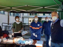 Dipendenti della Città Metropolitana di Firenze volontari con la Protezione civile