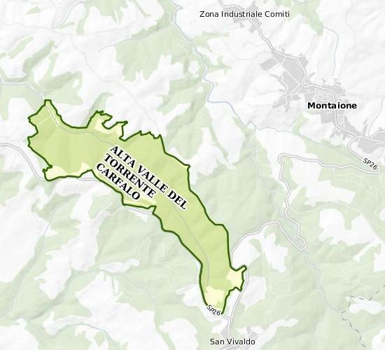 alta valle torrente carfalo