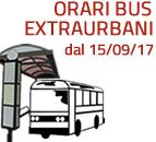Vedi gli Orari dei Bus Extraurbani