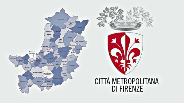Territorio e stemma città metropolitana