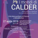 Invito I mondi di Calder