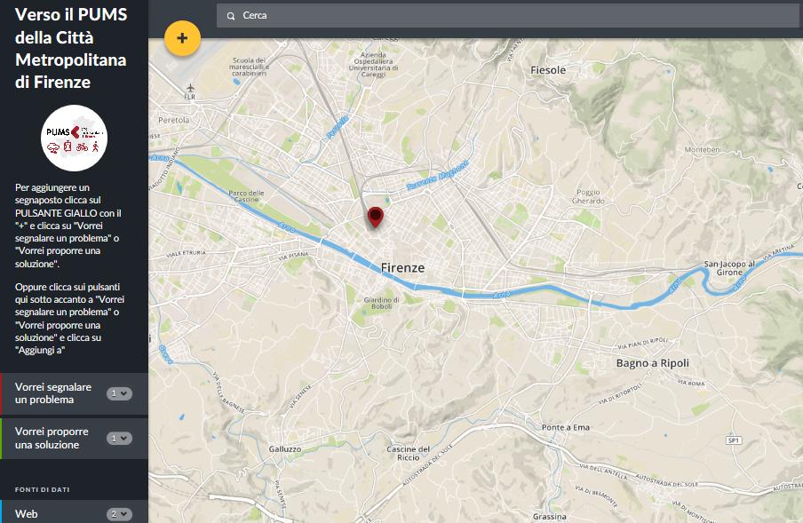 Crowdmap - Mappa partecipata