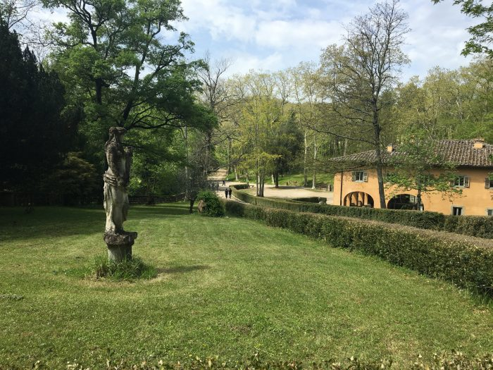 Nel Parco di Pratolino