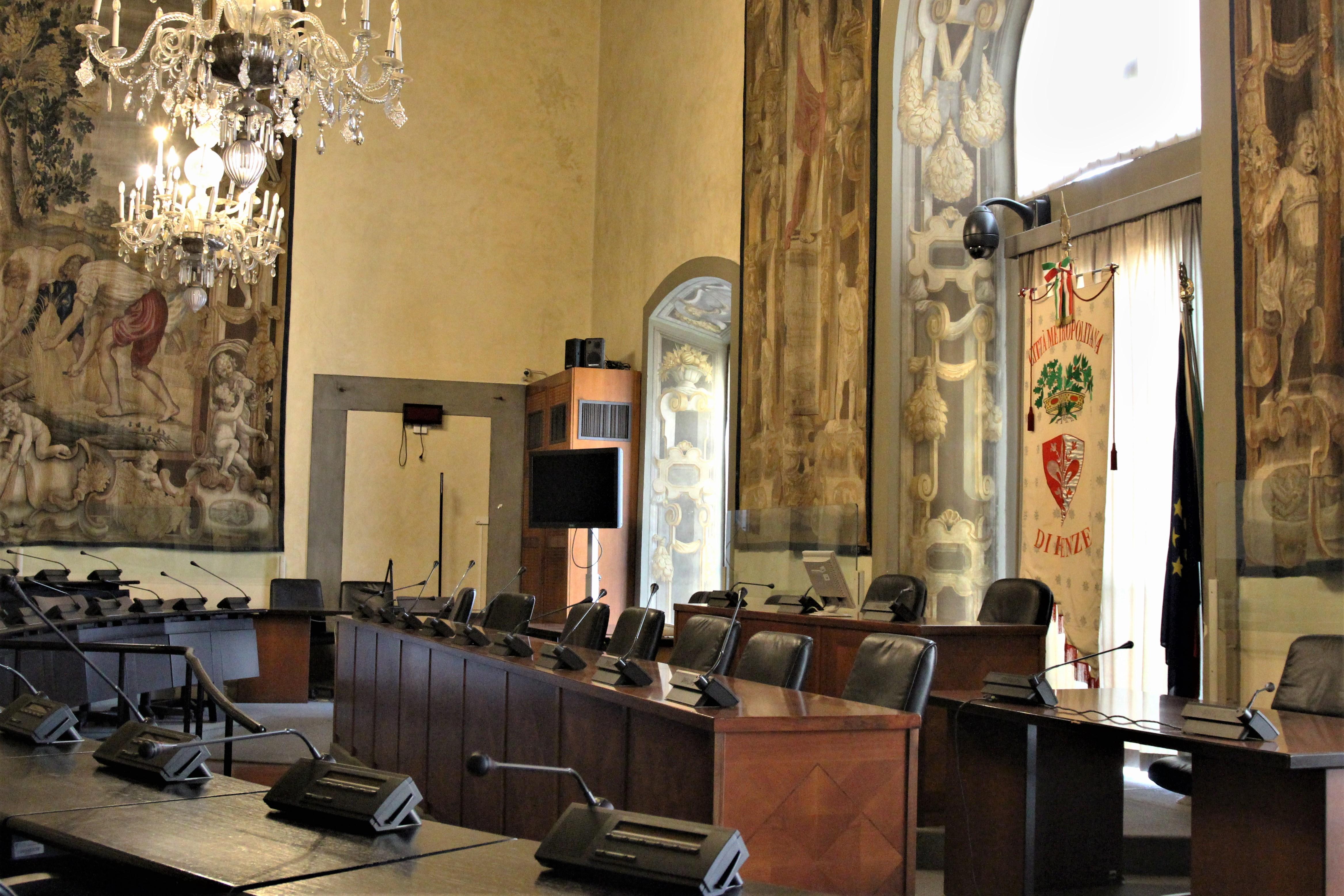 sala consiglio citta metropolitana - foto Antonello Serino