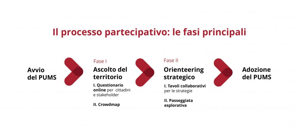 schema processo partecipativo fasi principali